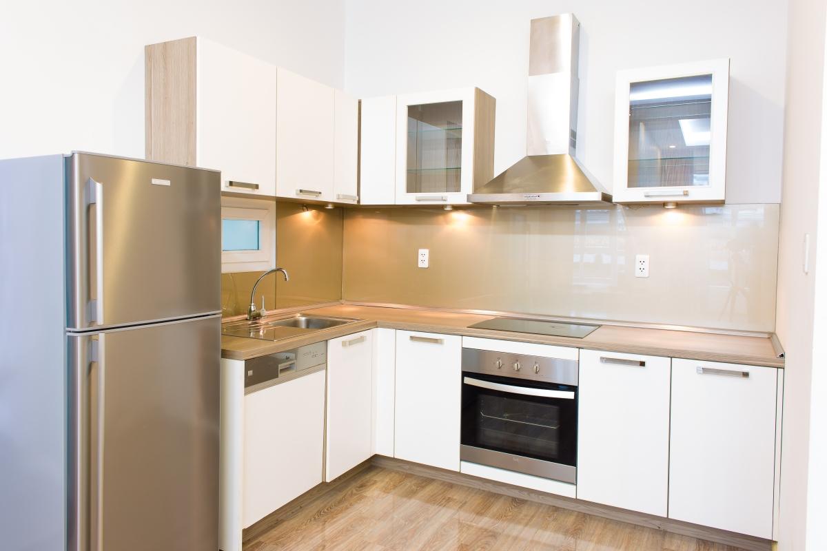 Phòng bếp căn hộ hướng Bắc SEM Residence. Căn hộ hướng Bắc SEM Residence
