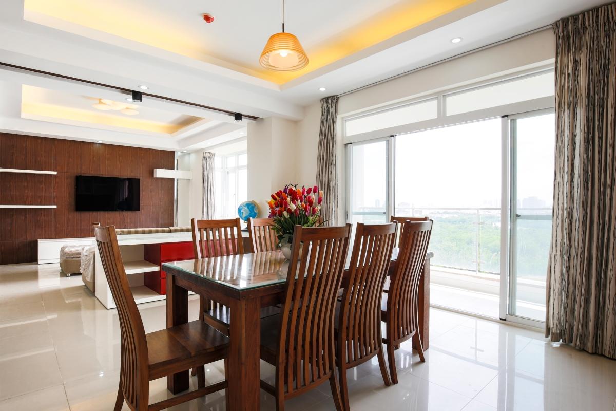 Phòng ăn Căn hộ tầng cao AL Riverside Residence