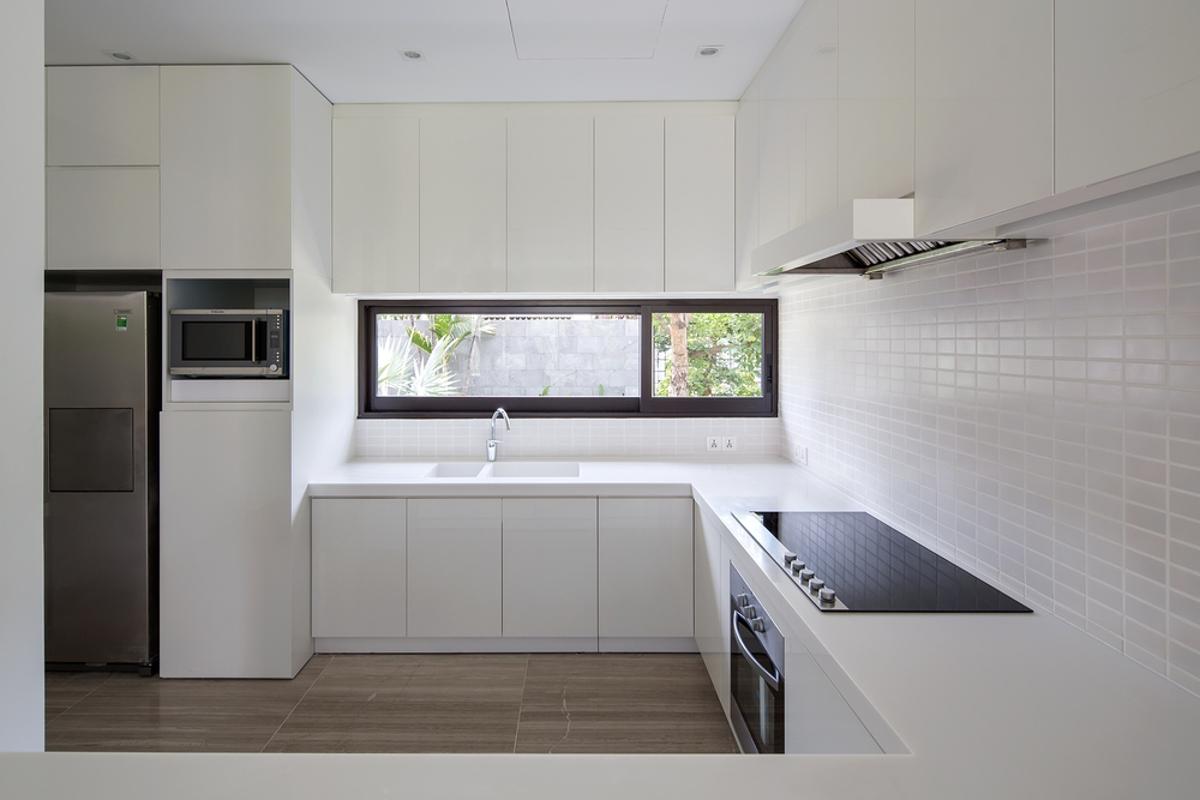 Phòng bếp Villa Lily Thảo Điền Compound