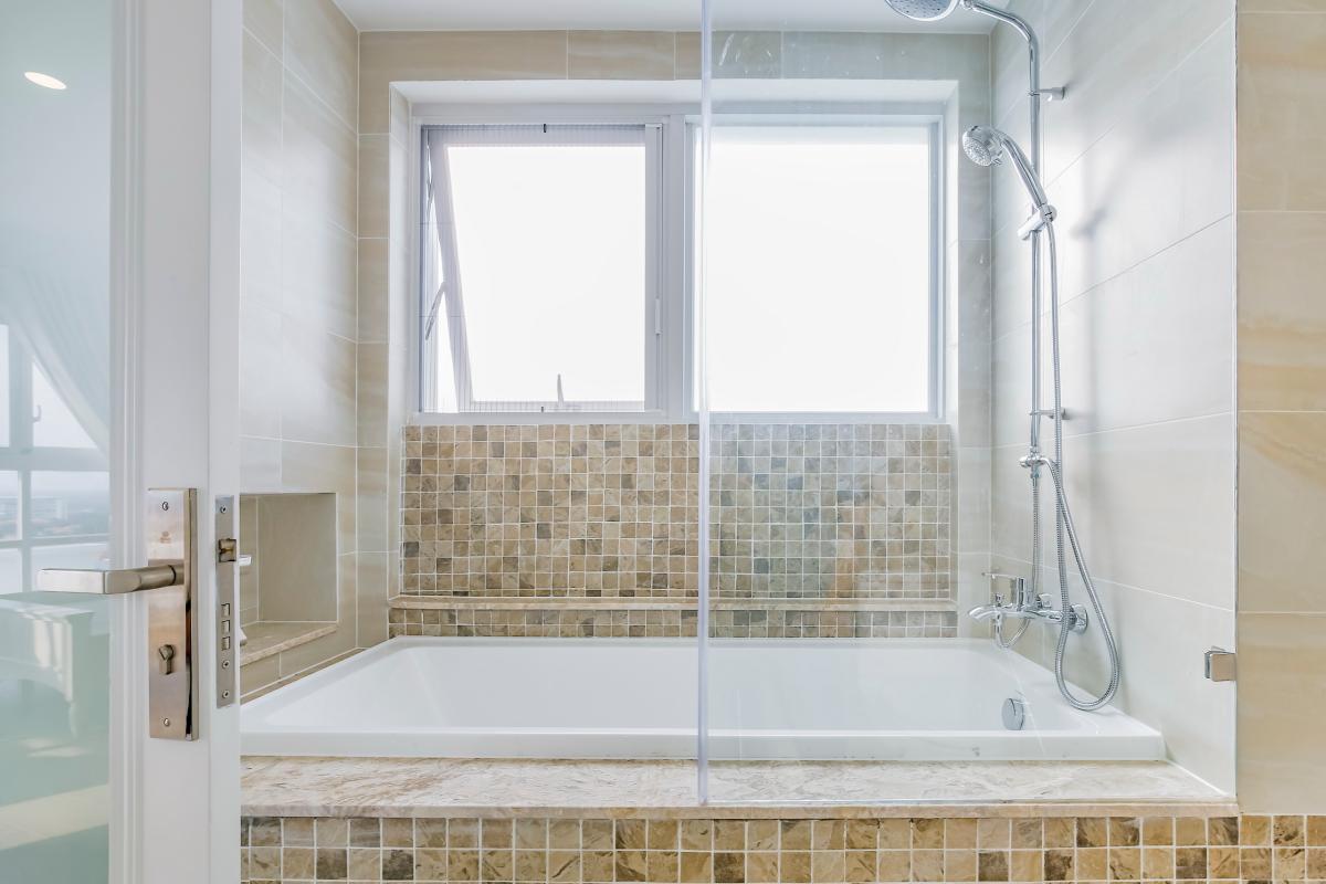 Phòng tắm Căn hộ tầng cao Happy Valley