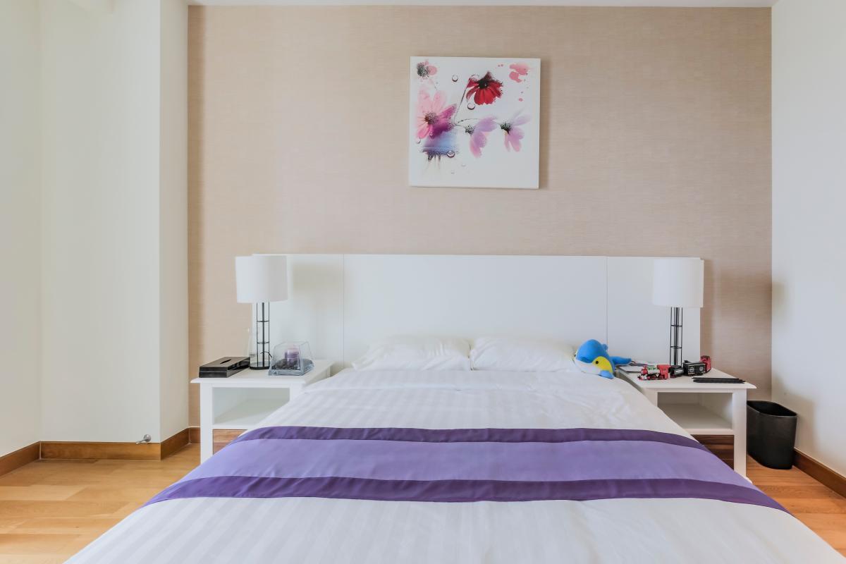 Nội thất phòng ngủ lớn Căn duplex trung tầng Tower 3 Brilliant Đảo Kim Cương