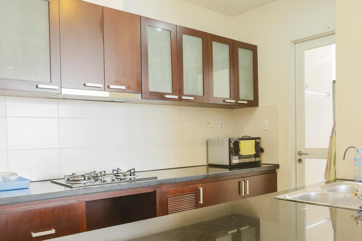 Phòng bếp Căn góc tầng cao Horizon Trần Quang Khải