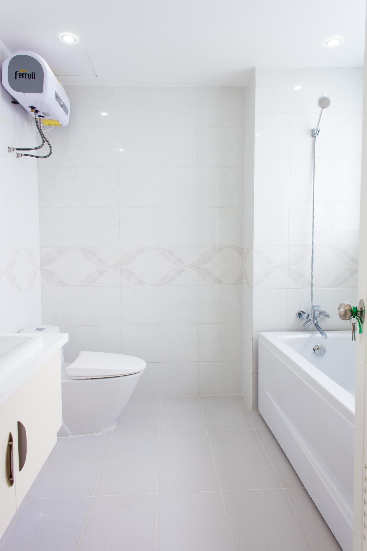 Phòng tắm Căn hộ tầng cao tháp H Happy Valley