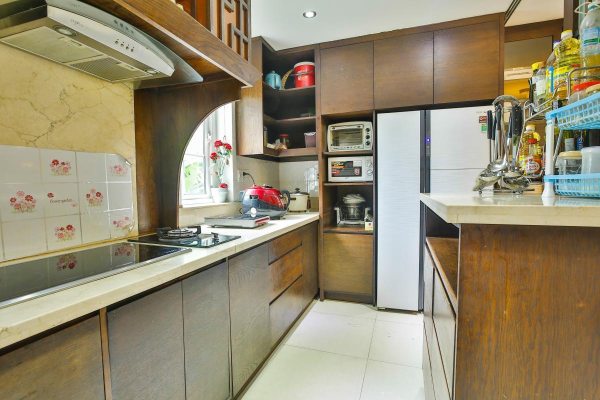 Phòng bếp Villa sân vườn Nam Thông 3