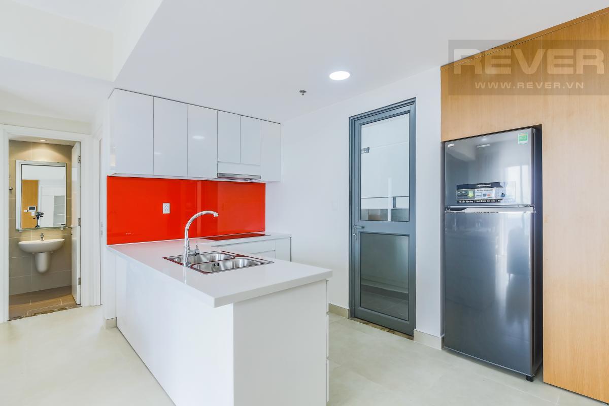 Phòng bếp thiết kế mở Căn góc tầng cao T1A Masteri Thảo Điền