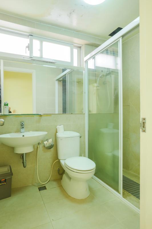 Phòng tắm 2 Căn góc Mỹ Phát tầng cao hướng Tây Nam