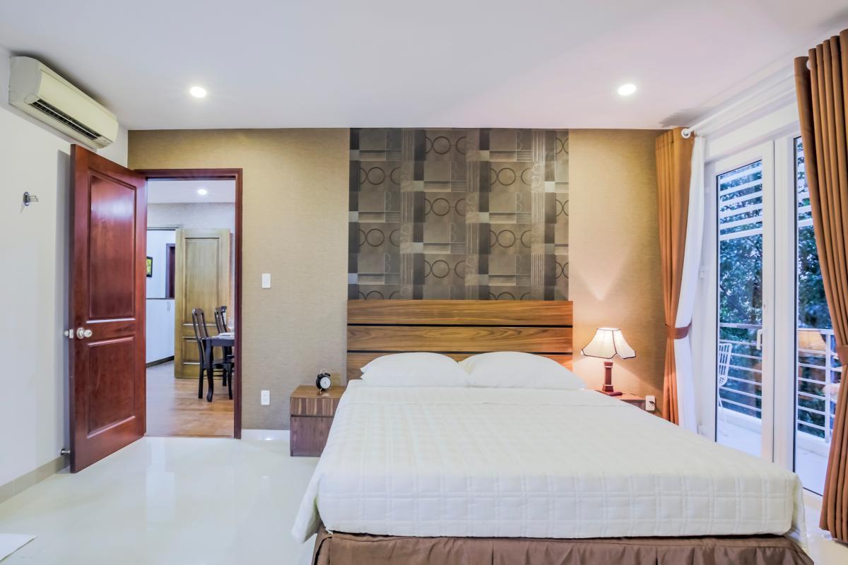 Phòng ngủ phụ Căn hộ 2 phòng ngủ Võ Văn Tần