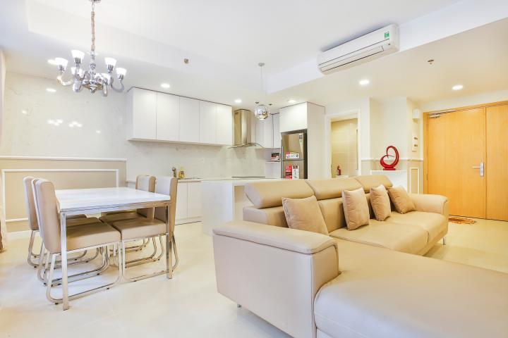 Duplex T4B Masteri Thảo Điền hướng Đông Bắc, nội thất cao cấp sang trọng