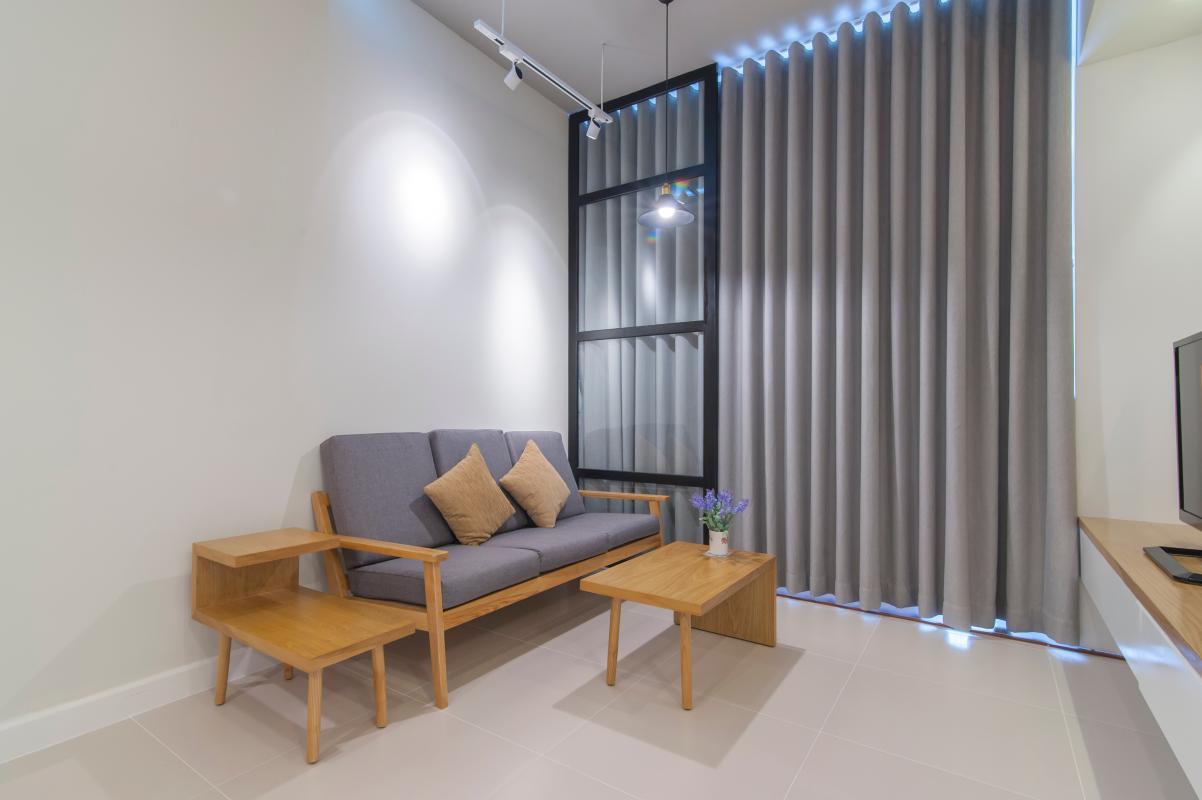Ghế sofa kiểu dáng đơn giản Căn hộ tầng cao LC Lexington An Phú