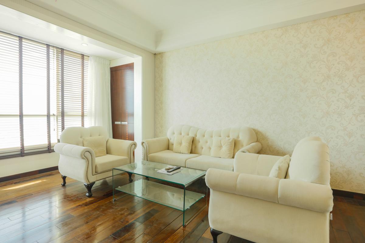 Phòng khách Căn hộ tầng cao AE The Manor 1