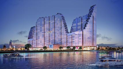 Siêu dự án 500 triệu USD River City: Toàn cảnh biển hồ