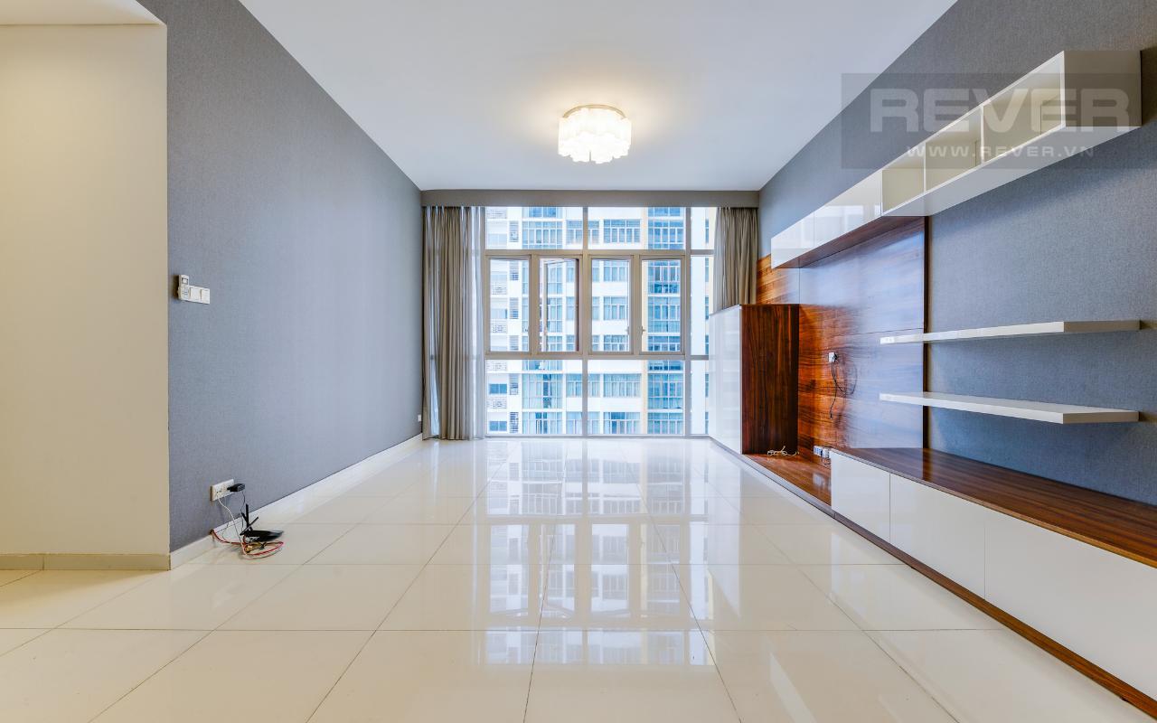 Phòng Khách Căn hộ trung tầng 3 phòng ngủ The Vista An Phú