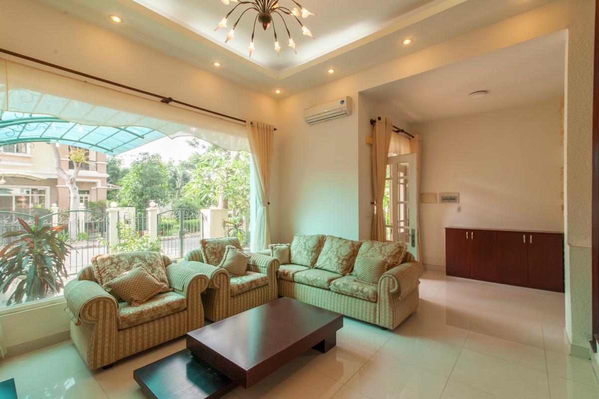 Phòng khách Villa 3 tầng Mỹ Thái 3