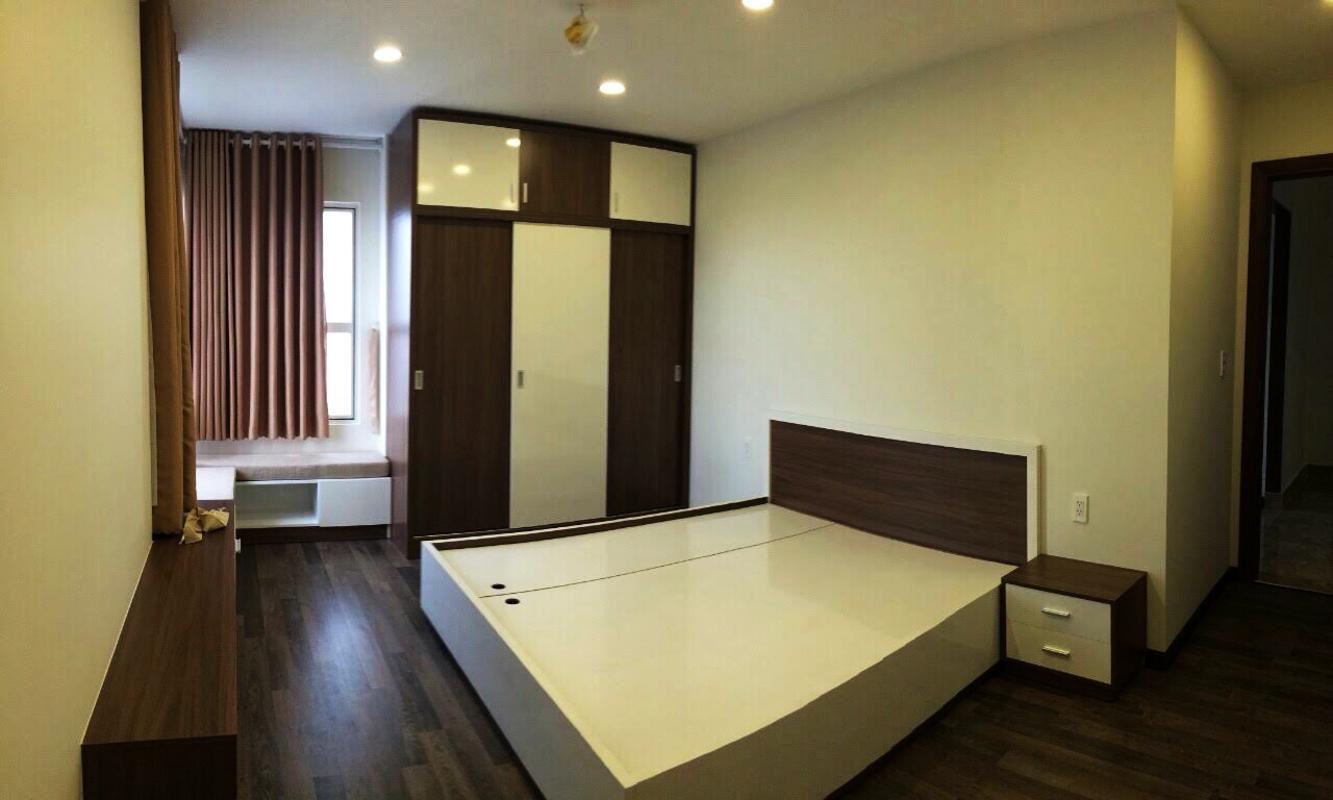 Nội thất phòng ngủ Căn góc tầng cao X2 Sunrise City