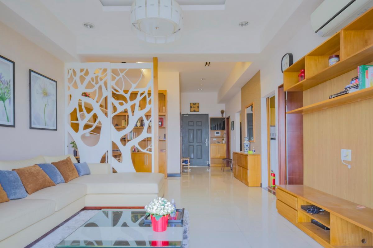 Phòng khách Căn hộ tầng cao Flemington