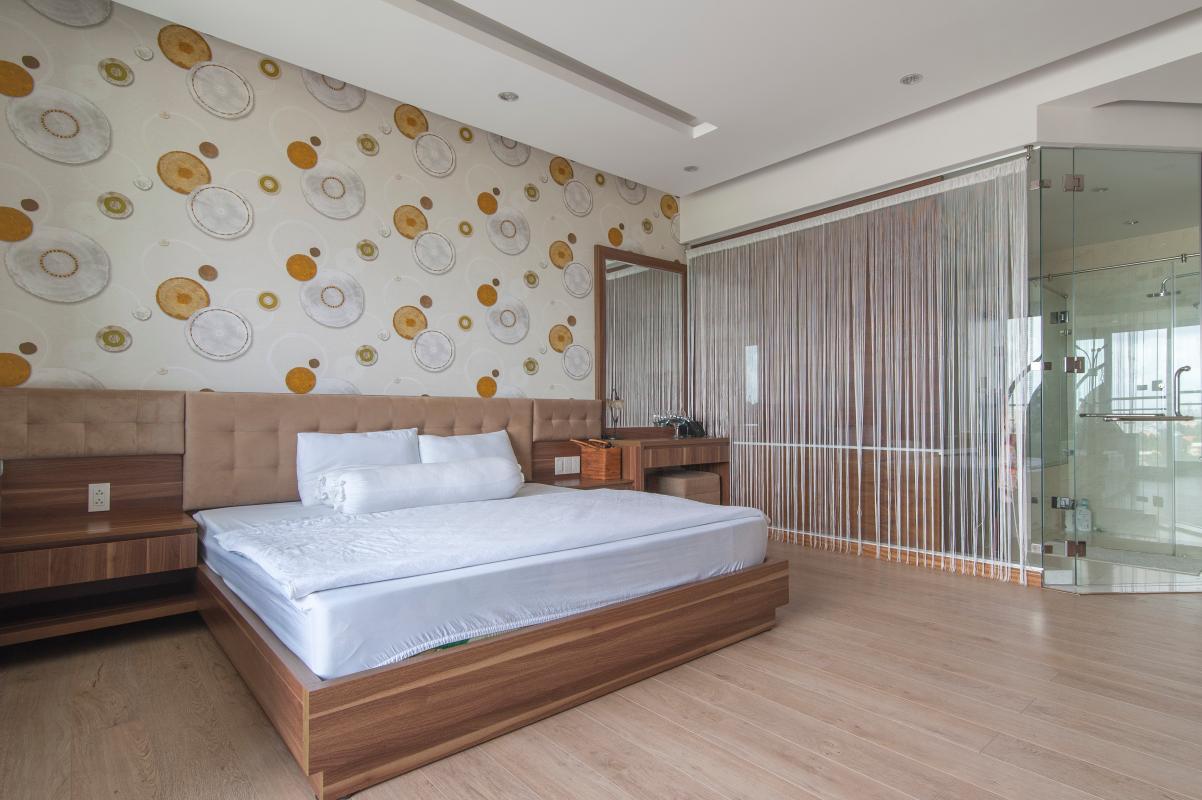 Phòng ngủ chính Căn hộ Riverside Residence tầng thấp tháp AL hướng Đông