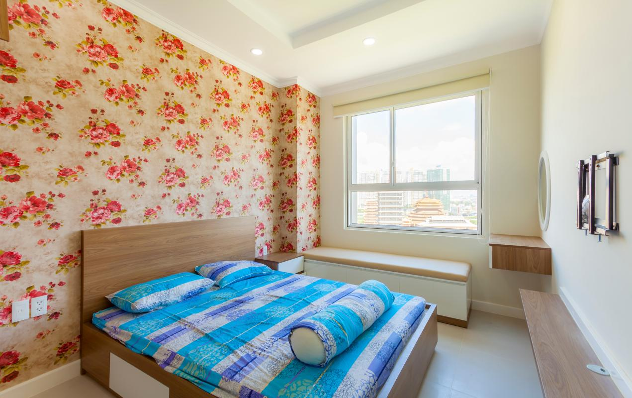 Phòng ngủ Căn góc tầng cao tháp LD Lexington An Phú