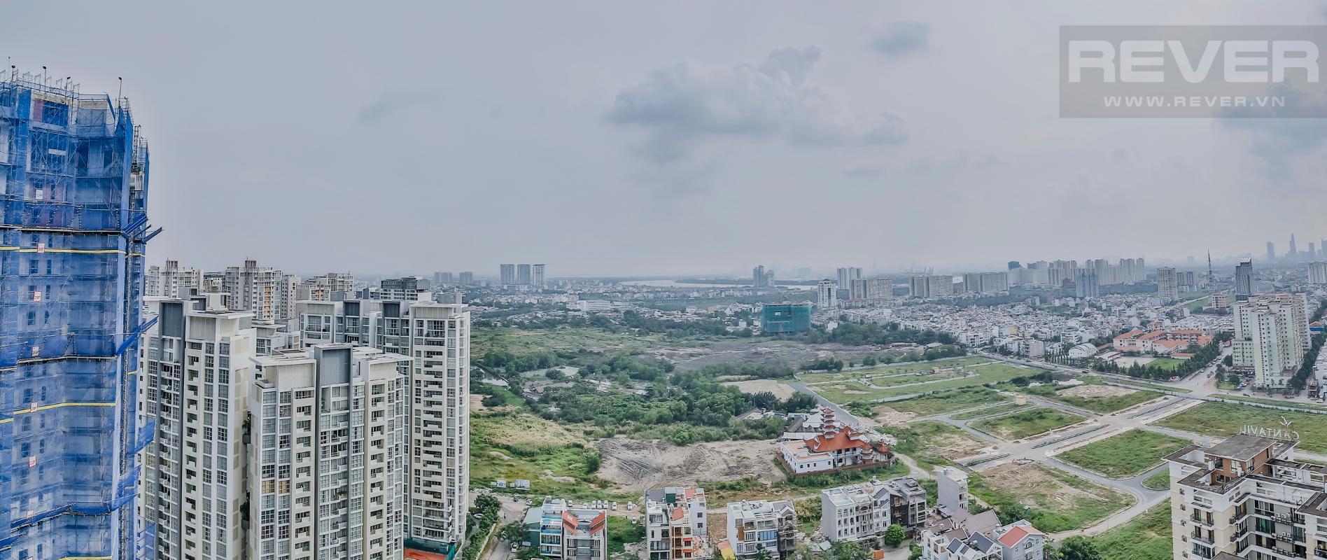 View phòng ngủ Căn hộ hướng Nam tầng cao D2 Cantavil An Phú
