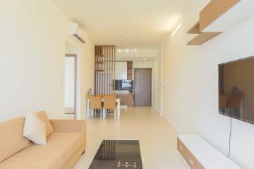 Căn hộ tầng cao Lexington Residence mộc mạc với sắc màu của gỗ 2