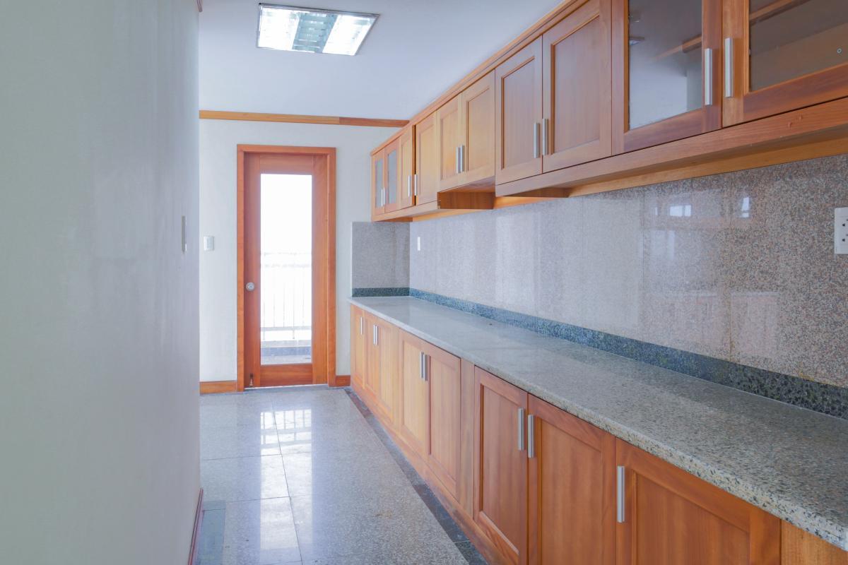 Không gian bếp Lofthouse 3 tầng tháp B Hoàng Anh Gold House