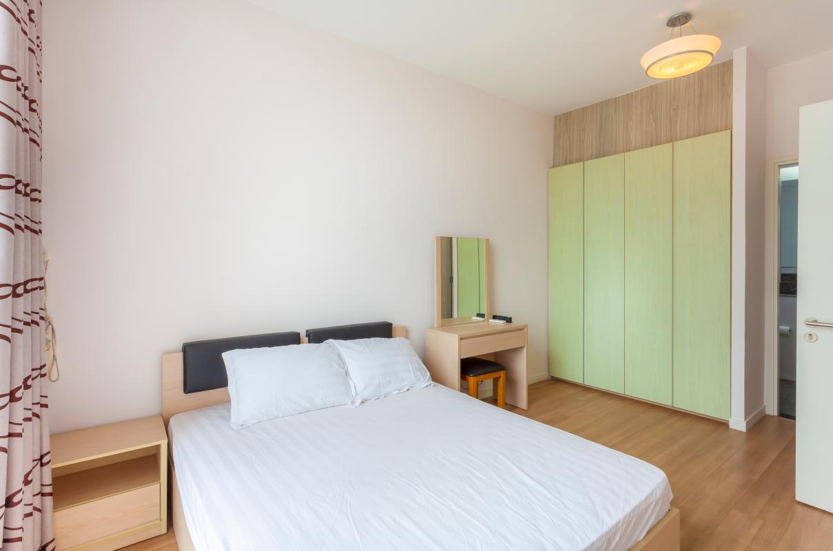 Nội thất phòng ngủ tối giản Căn hộ tầng cao 3A The Estella An Phú
