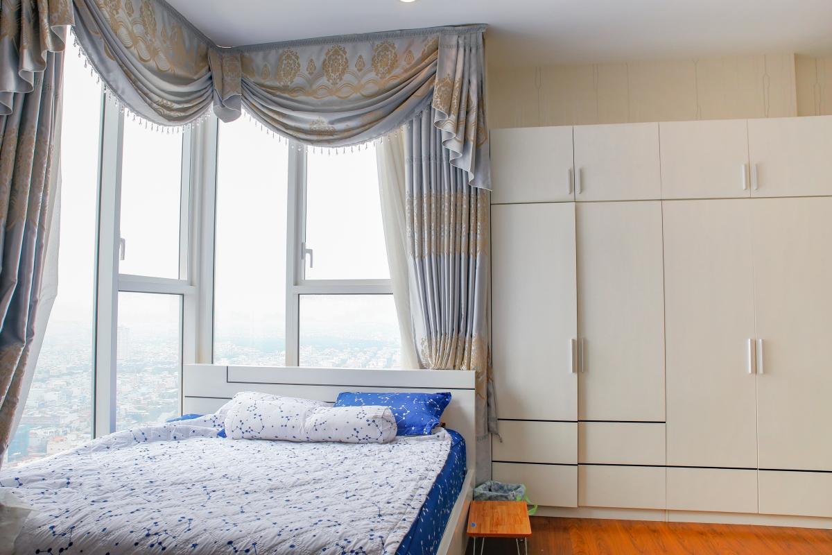Phòng ngủ Penhouse tháp W2 Sunrise City