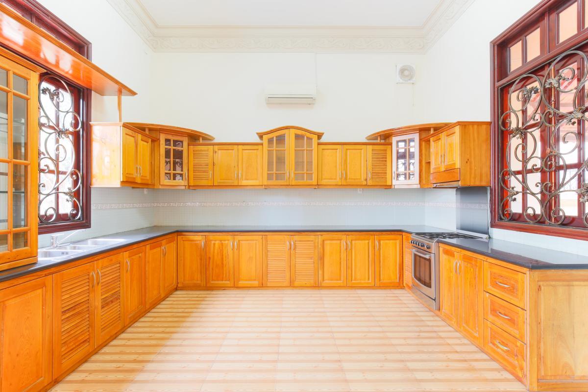 Phòng bếp Villa 2 tầng Trần Ngọc Diện Thảo Điền
