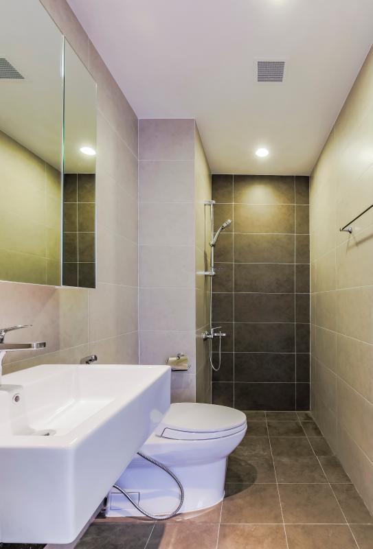 Phòng tắm Căn góc tầng cao P1 Prince Residence