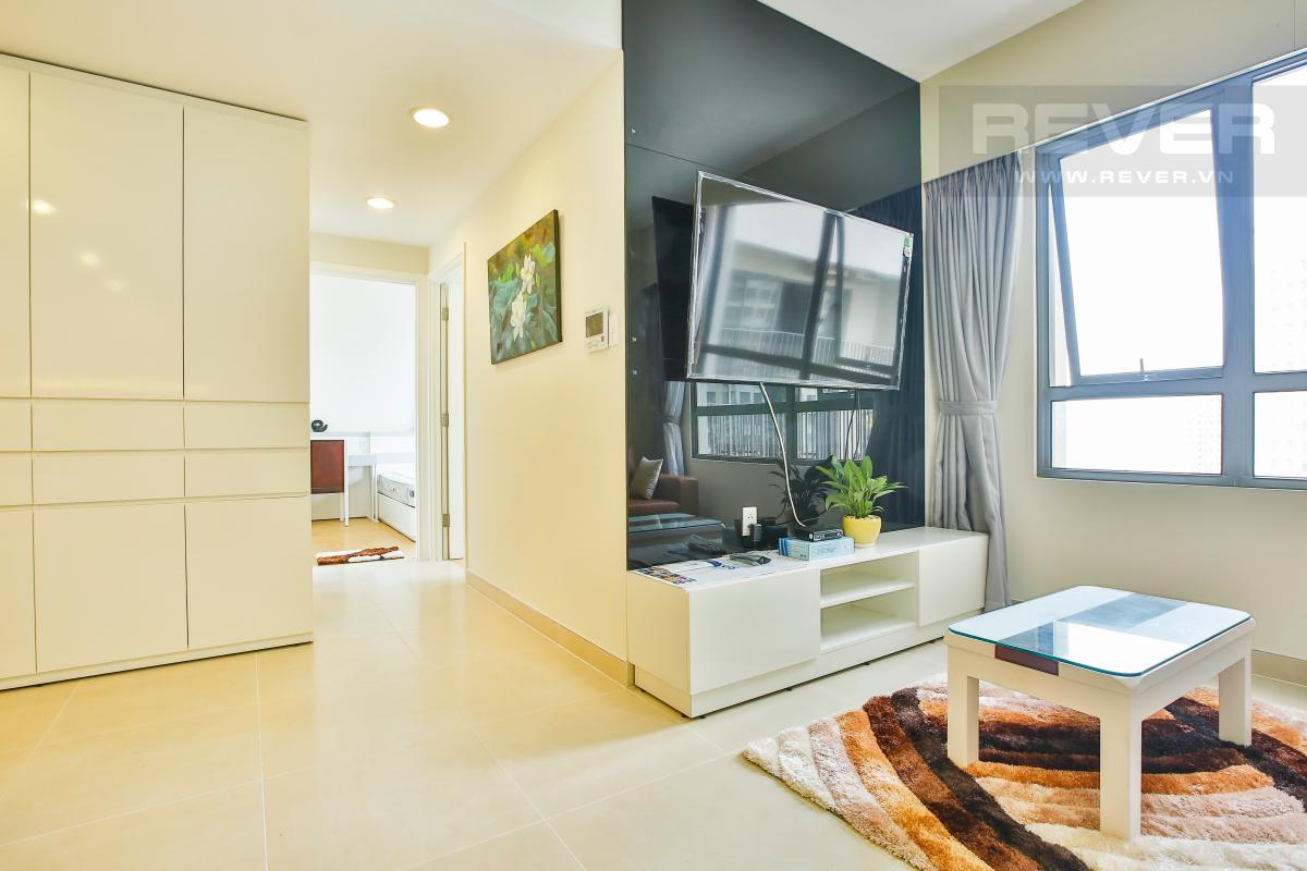 Phòng khách Căn hộ tầng cao 2 phòng ngủ T4B Masteri Thảo Điền
