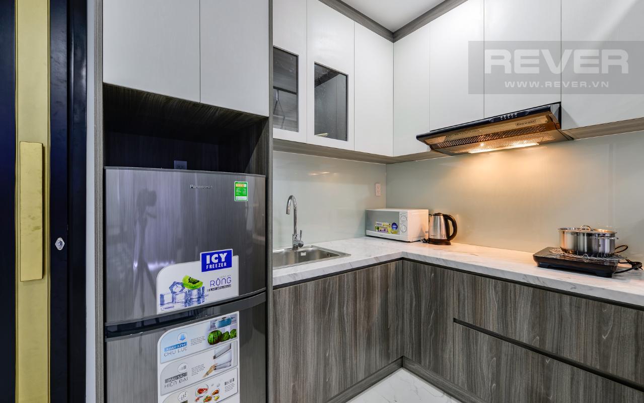 Phòng bếp gọn gàng và tiện nghi M & T Building cho thuê phòng đủ nội thất, nhiều diện tích sử dụng