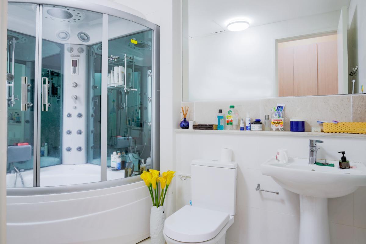 Phòng tắm chính Căn hộ 3 phòng ngủ tháp 4B The Estella An Phú