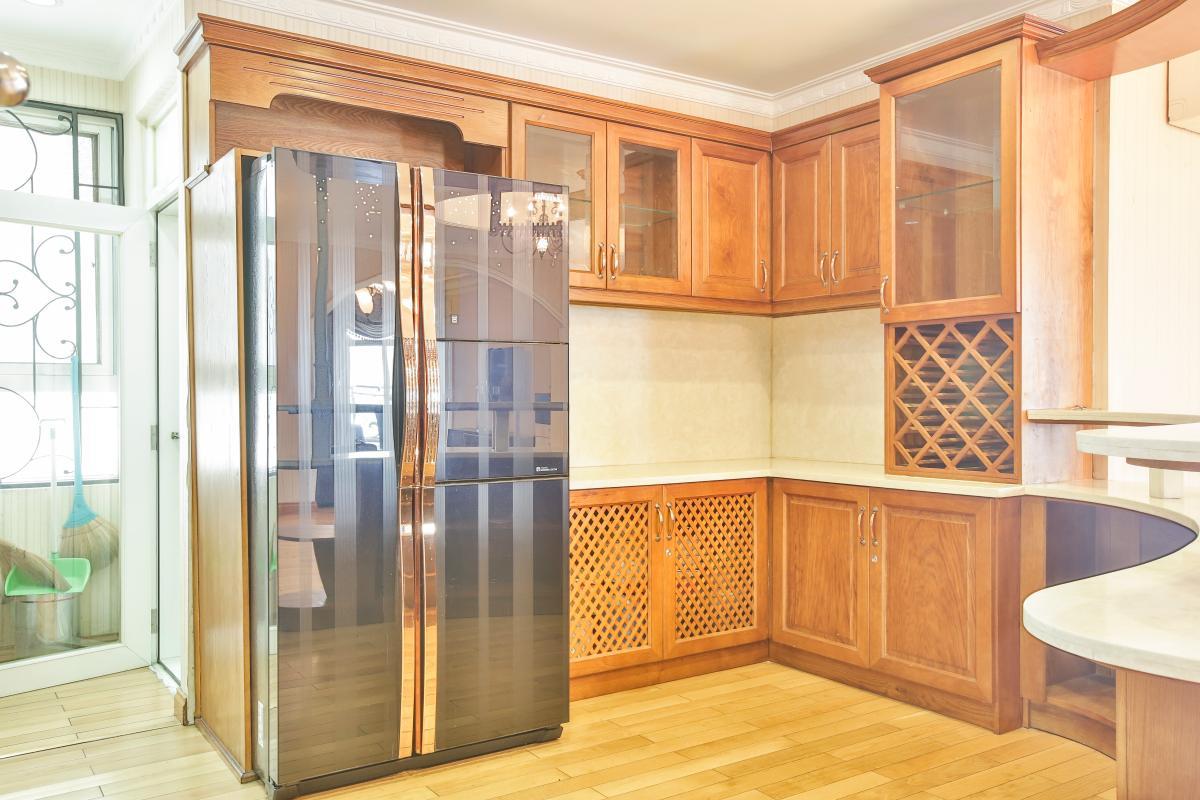 Gian bếp Căn hộ trung tầng tháp B Flemington