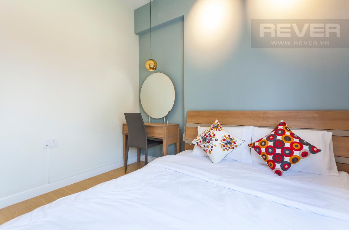 Nội thất phòng ngủ 2 Căn góc hướng Đông Nam tầng cao T3B Masteri Thảo Điền
