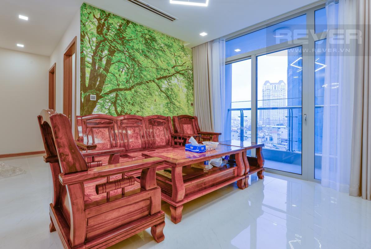 Phòng khách sành điệu Căn hộ hướng Đông Nam P1 Vinhomes Central Park