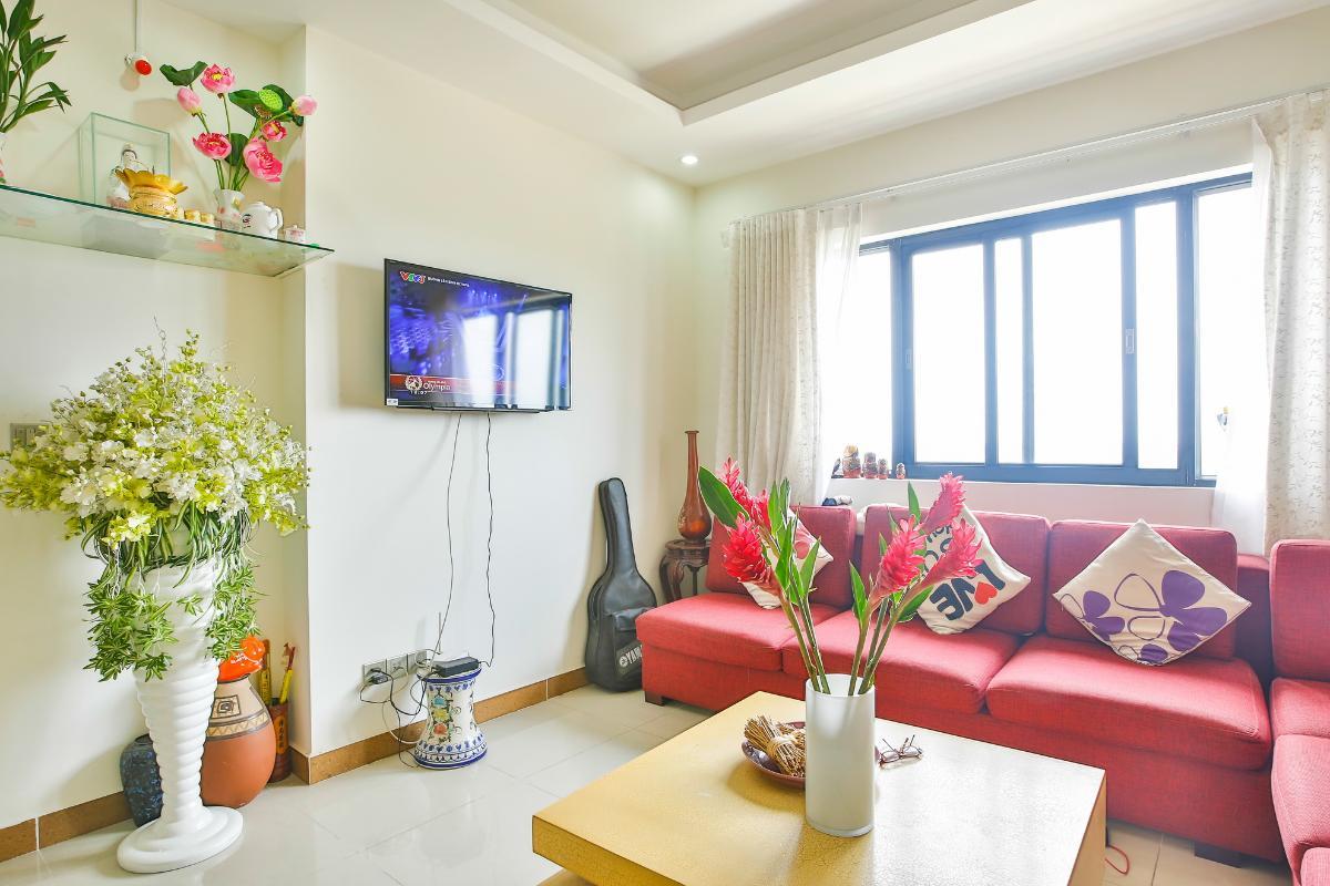 Nội thất Phòng khách Căn hộ tầng cao B1 Era Town