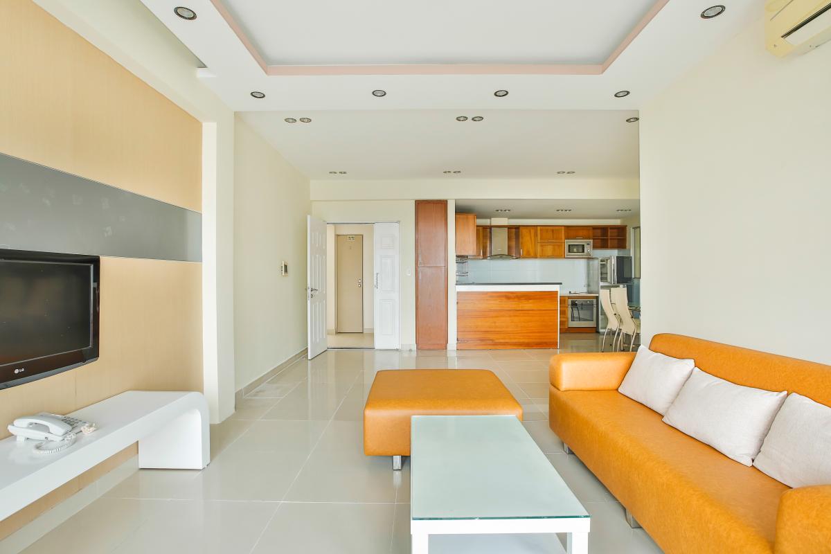 Căn hộ 3 phòng ngủ tháp 3A Garden Court 1