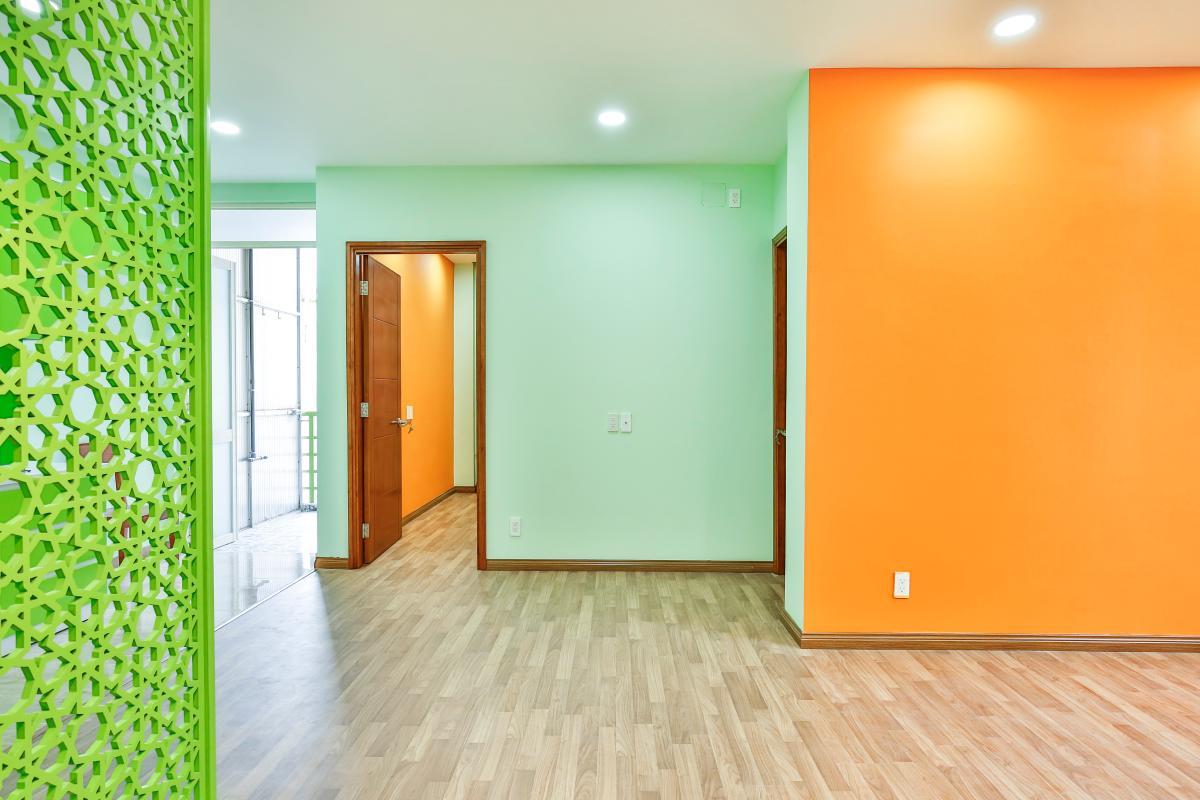 Phòng khách Căn hộ 2 phòng ngủ chung cư Nguyễn Tri Phương