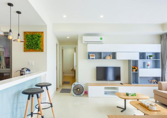 Căn góc 2 phòng ngủ tầng cao T1A Masteri Thảo Điền