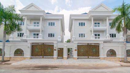 Villa 3 tầng Thảo Điền compound