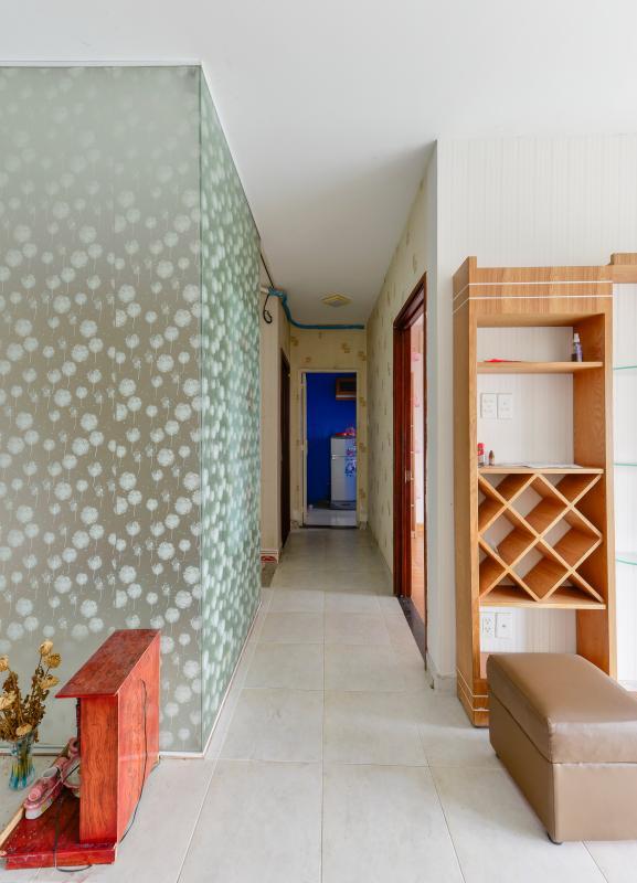 Lối đi vào phòng ngủ Căn hộ 2 phòng ngủ tháp C Sacomreal Hòa Bình