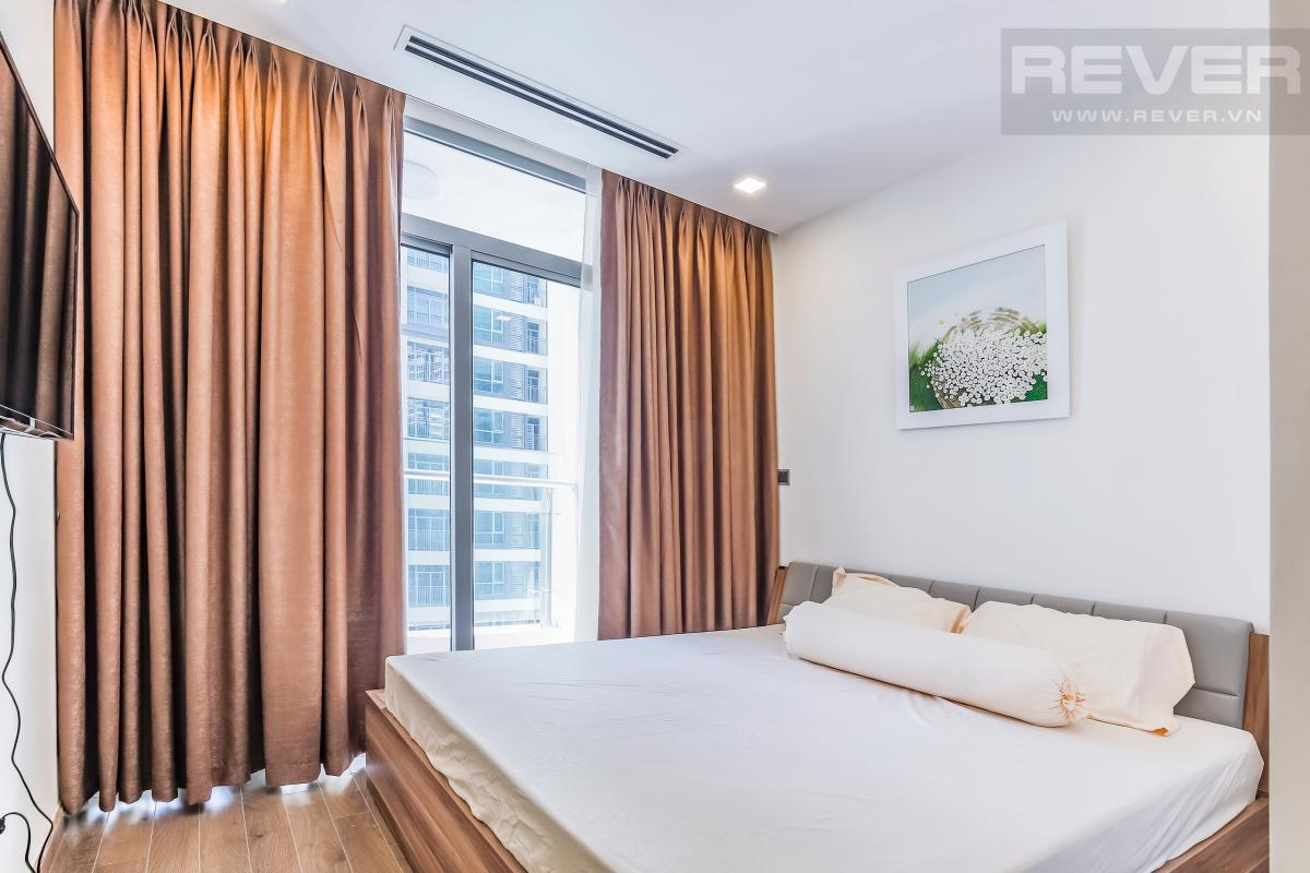 Phòng ngủ 2 view nội khu Căn hộ hướng Tây tầng cao P1 Vinhomes Central Park