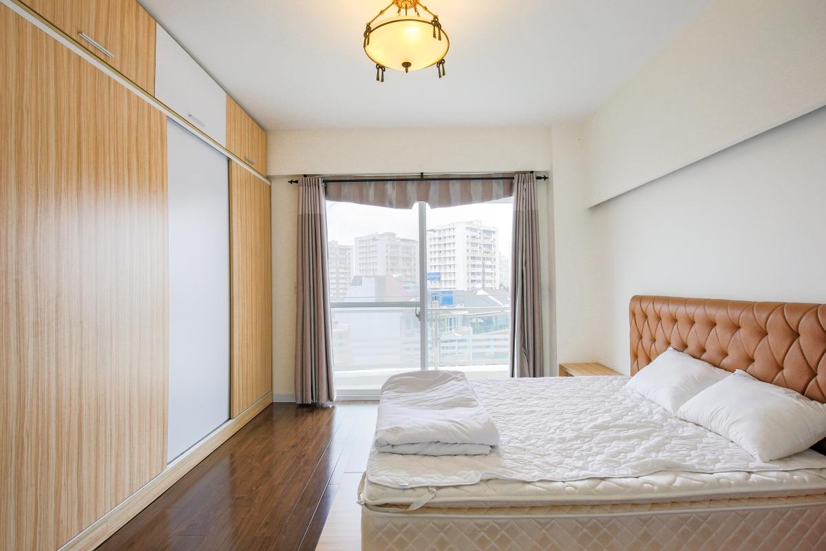 Phòng ngủ Căn góc hướng Nam tầng cao CB Riverpark Residence