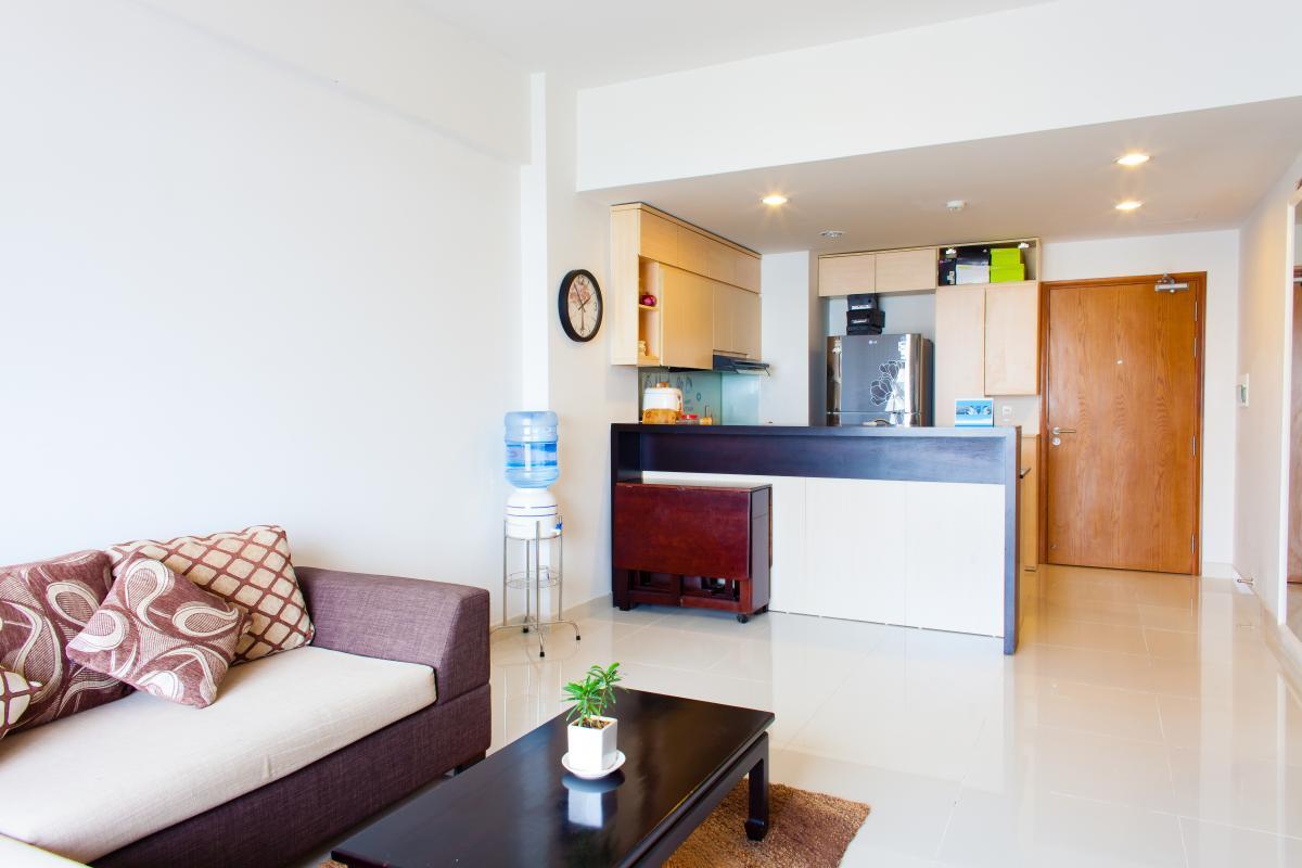 Nội thất Phòng khách Căn hộ tầng cao tháp C The ParcSpring