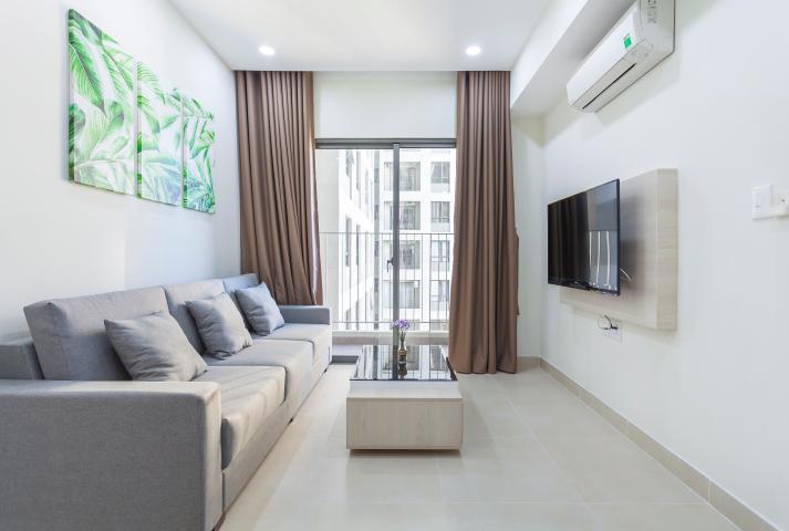Căn hộ Masteri Thảo Điền tầng cao T2B hướng Đông Nam, 2 phòng ngủ