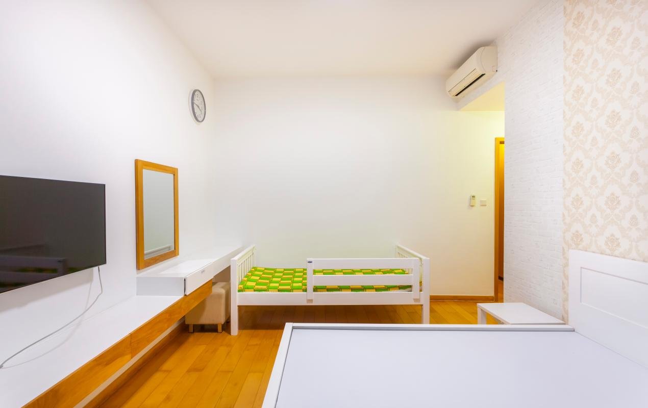 Phòng ngủ chính Căn góc tầng cao tháp T4 The Vista An Phú