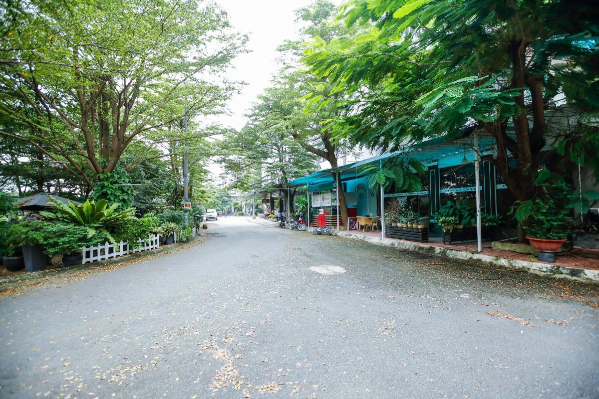 Không gian khu vực trước căn nhà Nhà 3 tầng mặt tiền D48 Nam Long