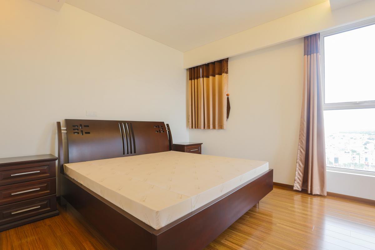 Phòng ngủ Căn hộ tầng cao tháp B Thảo Điền Pearl