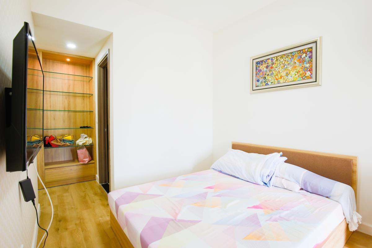 Phòng ngủ Căn hộ Galaxy 9 tầng thấp G1 2 phòng ngủ, đủ nội thất