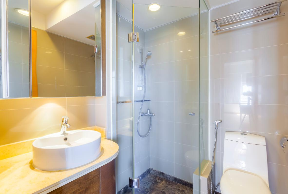 Phòng tắm Căn hộ tầng cao Ruby 2 Sài Gòn Pearl