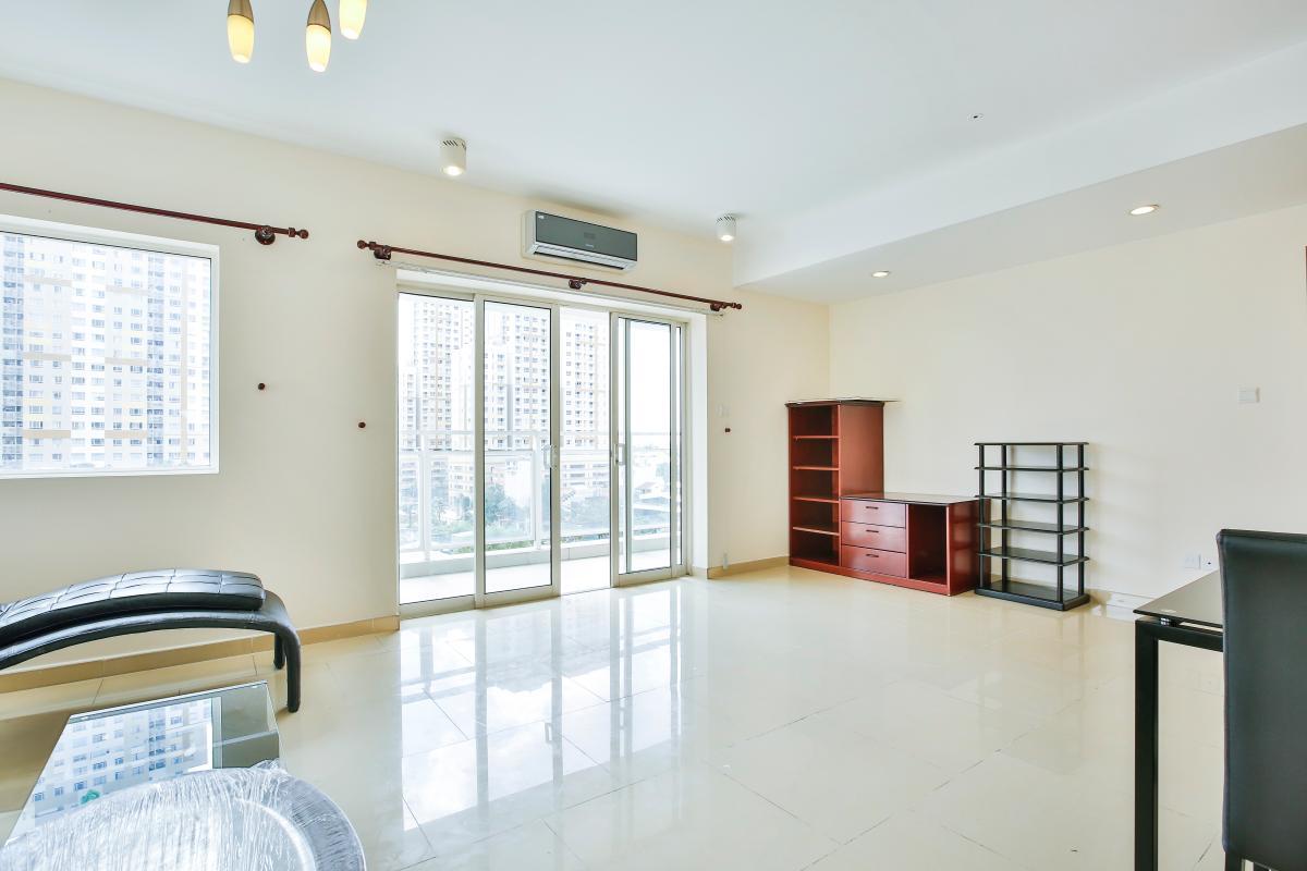 Phòng khách Căn hộ 2 phòng ngủ River Garden Thảo Điền